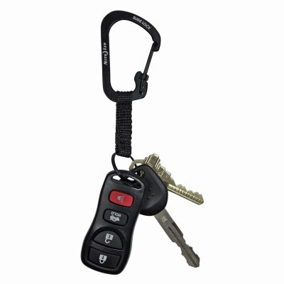 Nite Ize CSLW3-01-R6 Carabiner with Key Ring
