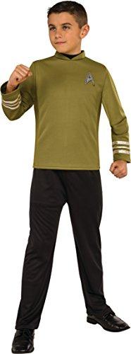 Star Trek Movie Uhura Costume (Rubie's Costume Kids Star Trek: Beyond Captain Kirk Costume, Large)