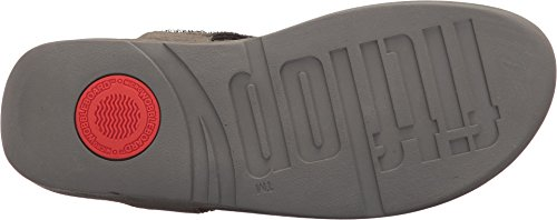 FitFlop Sandal Bumble Crystal Thong Toe PEWTER Women's 6z4qXdn6