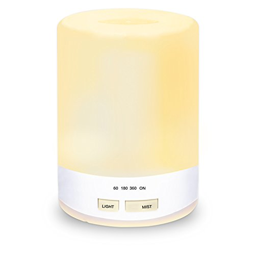 Etekcity Ultrasonic Oil Diffuser Cool Mist Aroma Humidifier with Safe Auto-off Function Quiet Mood 300ml