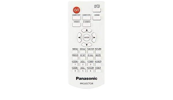 Panasonic OEM N2QAYA000071 - Mando a Distancia para proyector ...