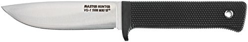 Cold Steel Master Hunter Plus Knife, Black