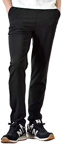 DRYストレッチパンツ イージー パンツ メンズ ジョガーパンツ 吸水速乾 接触冷感 UVカット 撥水/Y