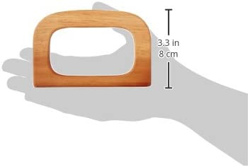 Sunbelt Fasteners W102N Wood Purse Handle Natural 4-7//8 by 3-1//4-Inch