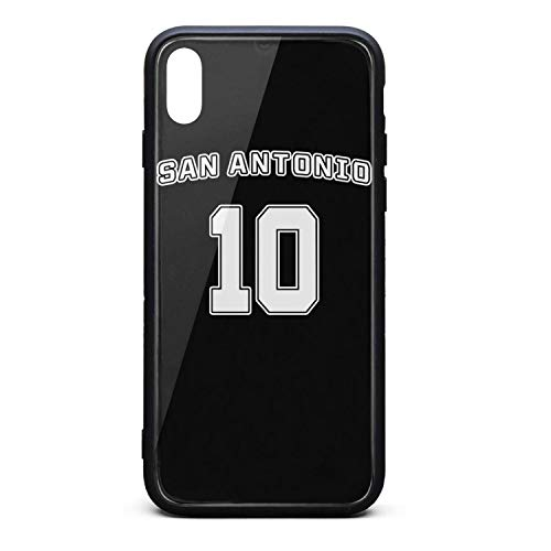3D Phone Cases for iPhone X,Xs,Xs Max Anti-Slip Shockproof Ultra Slim Stylish Perfectly Fit Tempered Glass Back Covers Durable PC TPU Hybrid Protective Shockproof Glossy