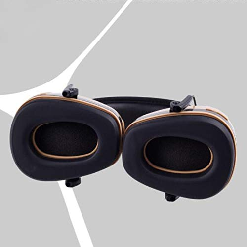 Noise Cancelling Headphones, Head-Mounted Adult Soundproof Earmuffs Sleep Learning Noise Reduction Earphones by Noise canceling headphones (Image #3)