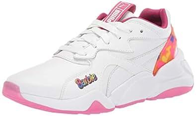 PUMA Womens Nova X Barbie White Size: 5.5