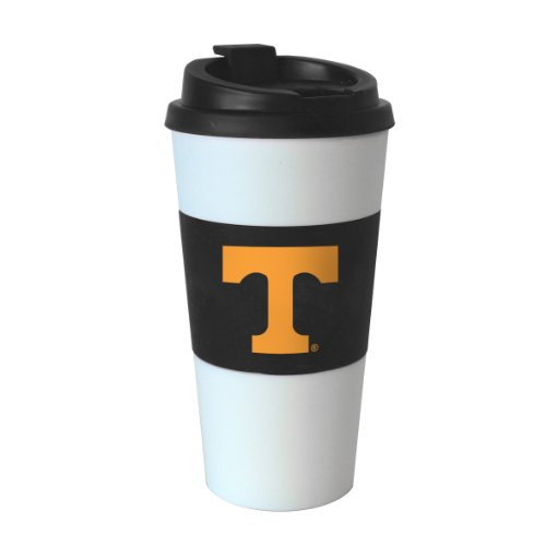 (NCAA Tennessee Volunteers Sleeved Travel Tumbler, 16-Ounce)