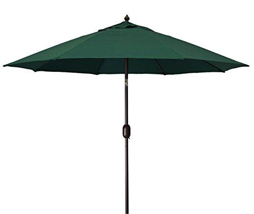 Amazon MJJ Sales 9 Aluminum Market Umbrella Black Garden Outdoor