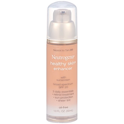 Neutrogena Healthy Skin Enhancer Broad Spectrum Spf 20, Neutral To Tan 40, 1 Oz.