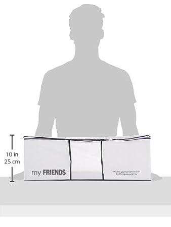 White//Grey Compactor Novara Dress Cover Bag 60 x 137cm