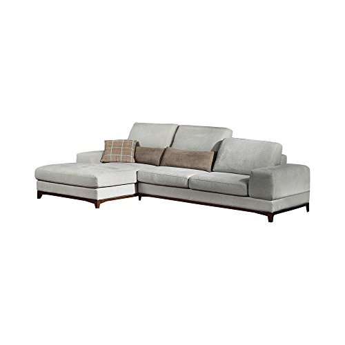 Ucofor S788B Customized Light Gray Multi-functional Combined Living Room Corner multifunction Washable Fabric Sofa
