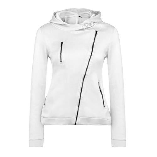 Hoodies for Womens, FORUU Ladies Sales 2018 Winter Warm Under 10 Best Gift for Girlfriend Autumn and Winter Jacket Jacket Casual Jacket Zipper Hooded Sweatshirt