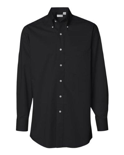 Van Heusen 13V521 Mens Dress Twill - Black - XXX-Large ()