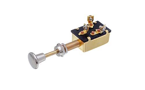 SEACHOICE 11911 Heavy Duty 3-Position Push-Pull Switch ()