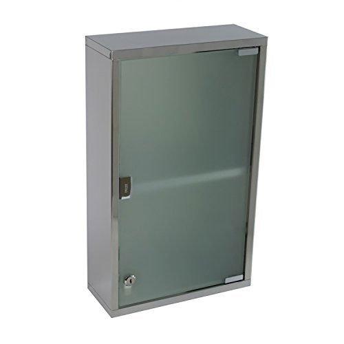 Gedy Gedy JO07-13 Medicine Cabinet, 5″ L x 11.8″ W
