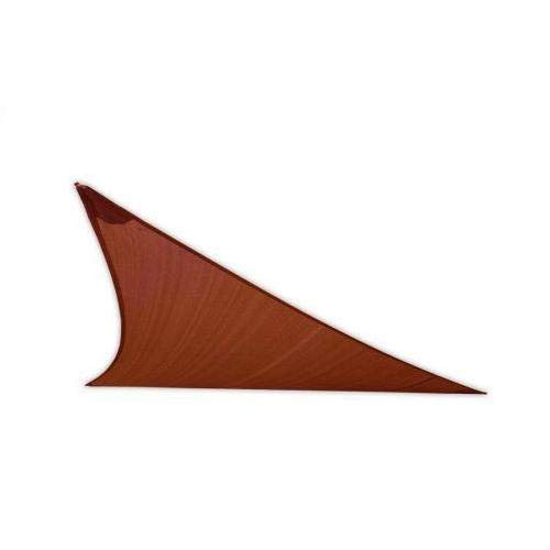 San Diego Sail Shades 20'x20'x28' Right Triangle (Terracotta Rust) - Commercial Grade Shade ()