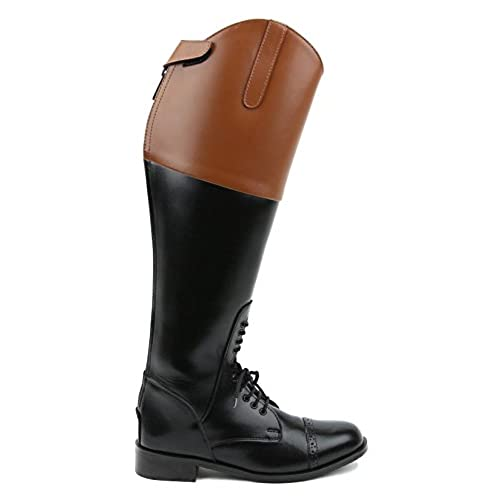 durable modeling Hispar ROYAL Women Ladies Field Fox Hunt Hunting Boots With Back Zipper Tan Top