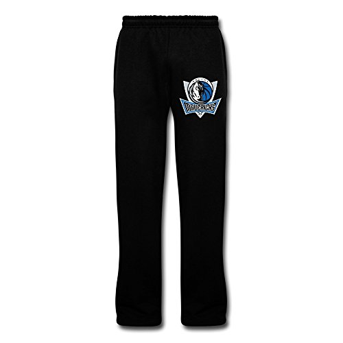 Black VAVD Male's Dallas Mavericks 100% Cotton Pajama Pants Size - Dallas Triathlon Training