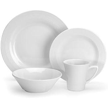 Cuisinart CDP01-S4WL Marne Collection 16-Piece Porcelain Dinnerware Set  sc 1 st  Amazon.com & Amazon.com: Cuisinart CDP01-S4WL Marne Collection 16-Piece Porcelain ...