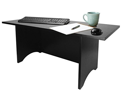 Miracle Desk Stand Up Desk - Convert a Regular Desk to Standing (Black, Tall) by HomeConcept