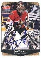 - Ron Tugnutt Ottawa Senators 1999 Victory Autographed Card. This item comes with a certificate of authenticity from Autograph-Sports. Autographed