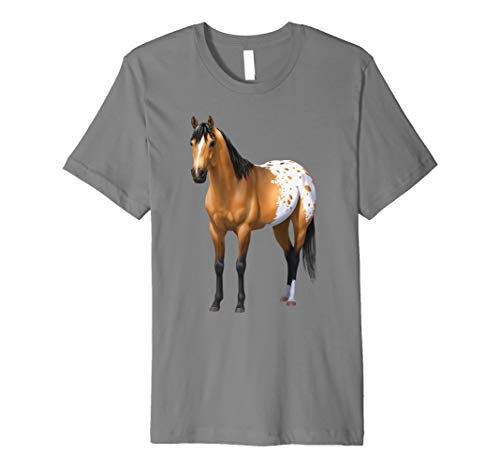 Beautiful Buckskin Appaloosa Quarter Horse T-shirt ()