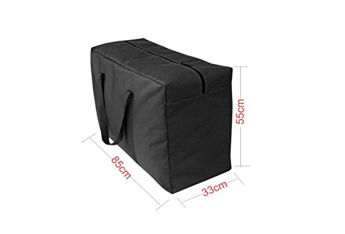 Heavy Duty Storage Bags Waterproof Sturdy 600D Oxford Cloth Space Saving Laundry Bag Garment Closet Storage Organizer Travel Cargo Duffel Jumbo Bags for Bedding Duvets Pillows Clothes or Moving Home by JINTN (Image #5)