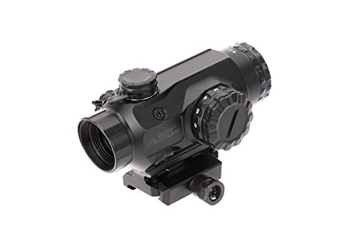 Primary Arms 1X Compact Prism Scope with Illuminated ACSS Cyclops Reticle, Advanced CQB Features, 400 Yard BDC, Range Estimation, Moving Target Leads and Included Riser Mount from Primary Arms