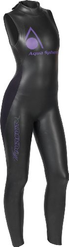 Aqua Sphere Women's Pursuit Sleeveless Wetsuit - - Triathlon Best Sleeveless Wetsuit