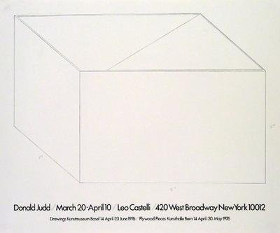 Amazon.com: Drawings At Castelli 1976 by Donald Judd. Best Quality ...