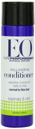 EO Ботанический Volumizing Conditioner для нормальной тонких волос, розмарина и мяты, 8,4 унции (в упаковке 3)