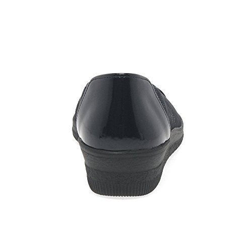 Cordones Comfort de Derby Gabor Basic Zapatos Mujer Dot Ocean Patent para wPRIx7qAx