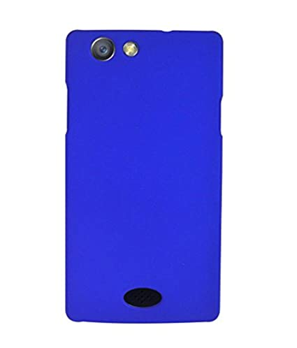 buy online 2a891 d7980 COVERNEW Plastic Back Cover for Oppo Neo 5 - Royal: Amazon.in ...