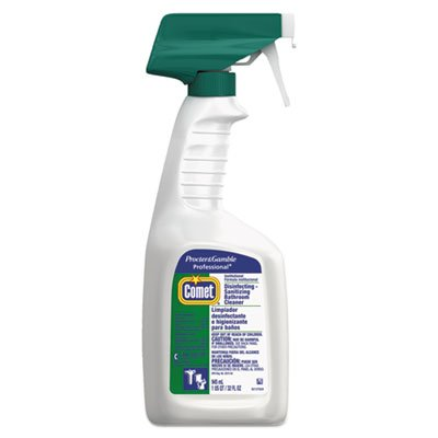 Comet Professional Disinfectant Bath Cleaner, 32 oz Trigger Bottle, 8/Carton by Comet® Professional