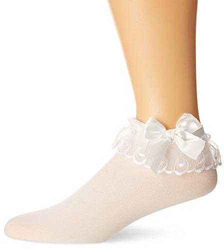 Ruffle Bow Socks - 9