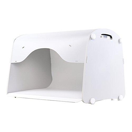 ViVi 撮影ボックス Lサイズ led ledライト 撮影キット 撮影ブース LED照明内蔵 ライト付き 大型 ディフューズボックス 小物商品撮影 撮影セット [日本正規代理店] Lサイズ  B01L6DCR2I
