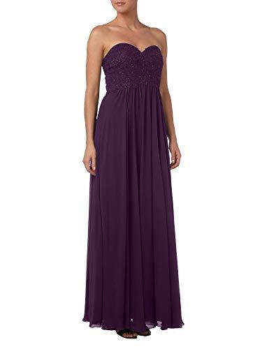 Spitze Brautmutterkleider Partykleider Abendkleider Bodenlang A Traube Linie Elegant La Marie Braut Rock 14n7xwqnEZ
