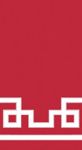 entertaining-with-caspari-guest-towels-rive-gauche-red-pack-of-15