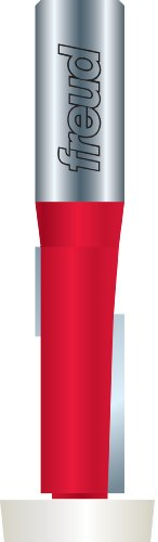 Freud 85-275 1/8-Inch Overhang by 1-Inch Height Overhang Trim Router Bit with 1/2-Inch Shank and 10-Degree Beveled Bearing