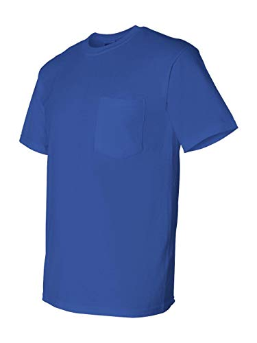 Gildan DryBlend 5.6 oz., 50/50 Pocket T-Shirt, Large, ()