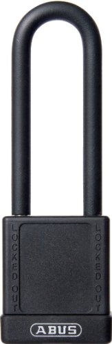 (ABUS 74HB/40-75 MK Safety Lockout Non-Conductive Master Keyed Padlock with 3-Inch Shackle,)