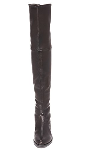 Stuart Weitzman Frauen Tiefland Over-The-Knee Boot Nero