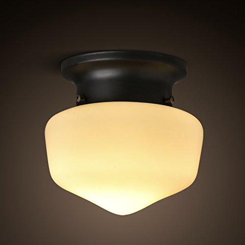 FLRLY Easy Fit modernos y Retro sombra de luz de techo de ...