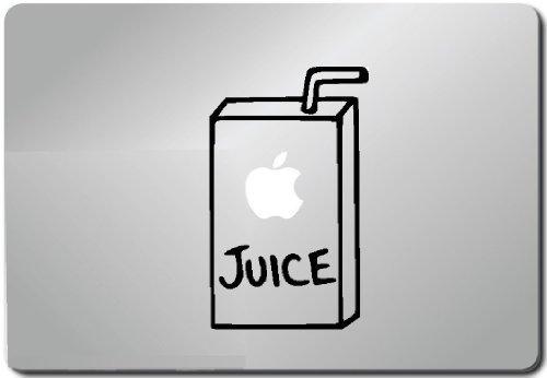 Apple Juice Computer Skin Apple Sticker Laptop Sticker
