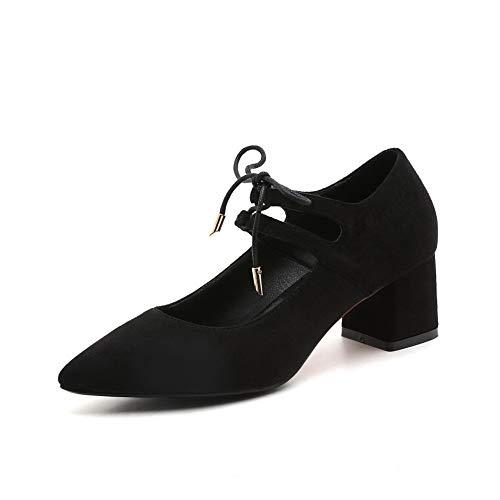 36 EU Compensées 5 Sandales Femme DGU00664 Noir Noir AN HSnxpp