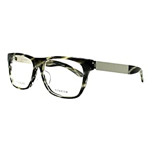 YSL Saint Laurent YSL 4023/J 8LN Dark Grey/Horn Silver Square eyeglasses