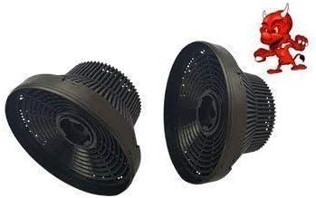 Juego de 2filtros de carbón activado Carbón filtro para campana Teka GFH 73: Amazon.es: Iluminación