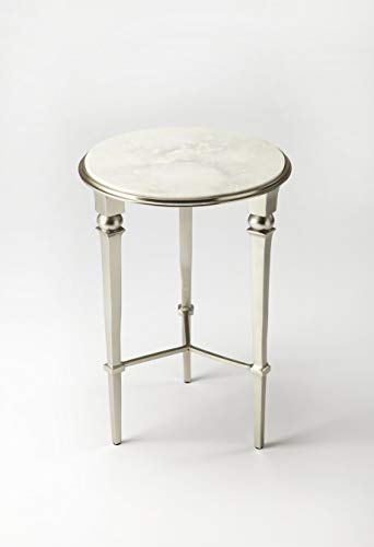 Butler Specialty Foyer Table - Butler specality company BUTLER 3667260 DARRIEUX MARBLE END TABLE