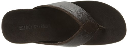 Ben Mens Milo Thong Dress Sherman H Brown Leather Sandal rUwATrq